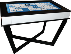 "GestTable ™ 42"" LCD Multi-Touch Table"